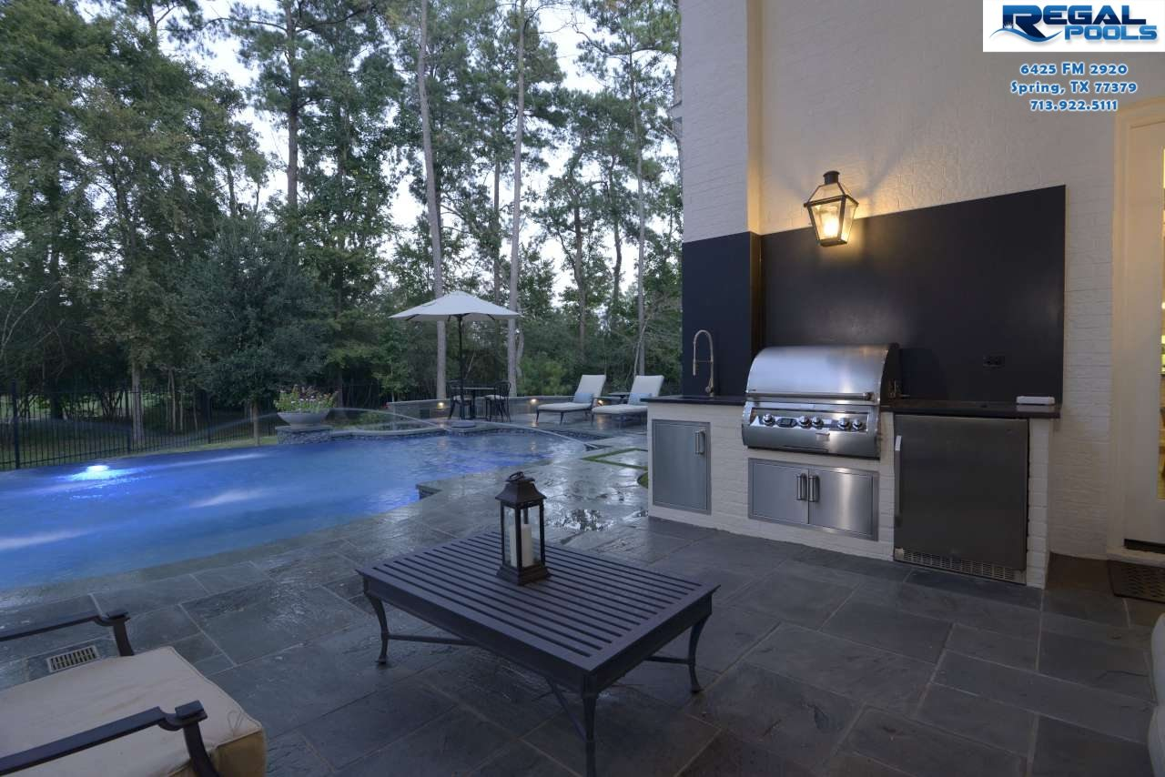 Swimming Pool Fire Water Features Regal Pool Designs New Design