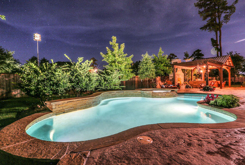 Pool Builders The Woodlands TX - #1 Rated & 2018 Top 50 Contractors