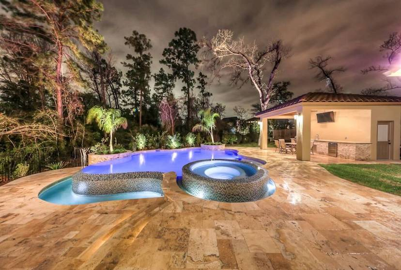 Pool Builders The Woodlands Tx 1